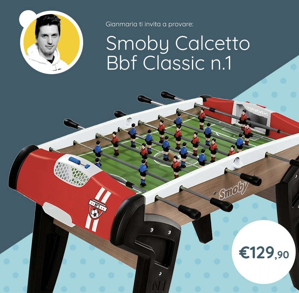 Smoby Calcettto BBF Classic n.1