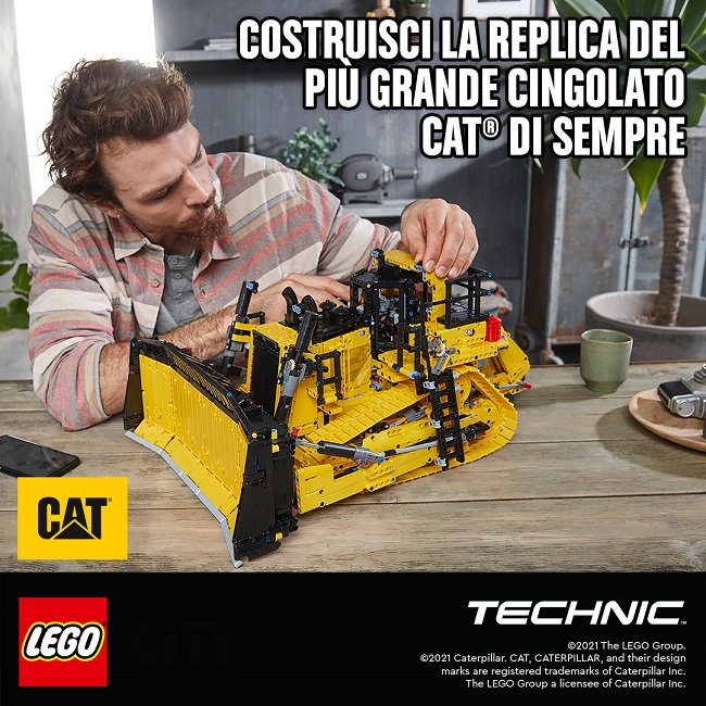 LEGO Technic Bulldozer Cat D11T