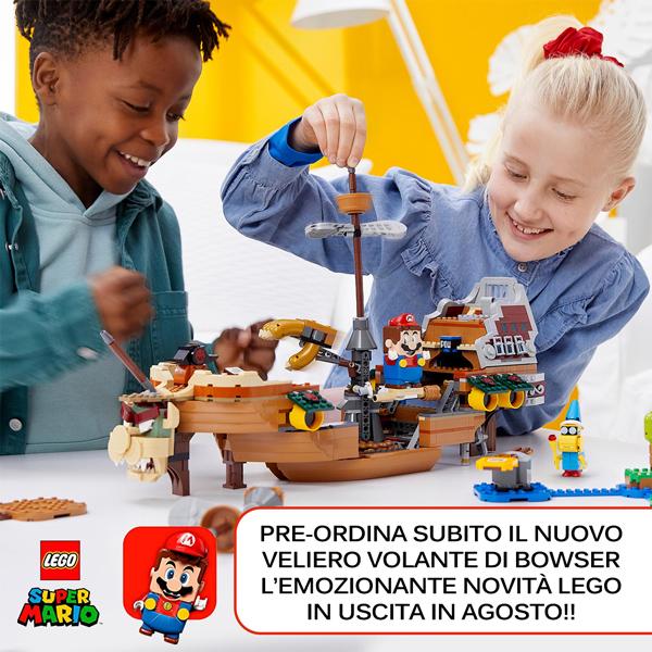 Preordina il Vascello Volante di Bowser LEGO SUPER MARIO