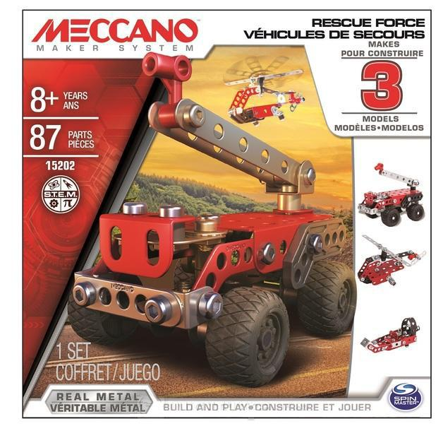 MECCANO PRONTO INTERVENTO MULTIMODELLO 6026714