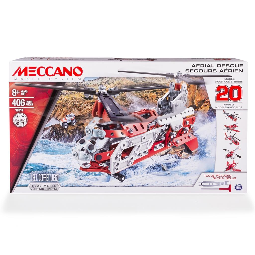 MECCANO SET ELICOPTHER MULTIMODELLO 6028598