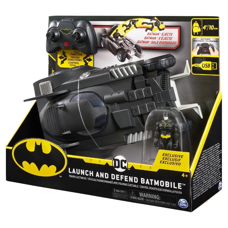 SPIN MASTER  BATMAN BATMOBILE LAUNCH & DEFEND RC 6055747