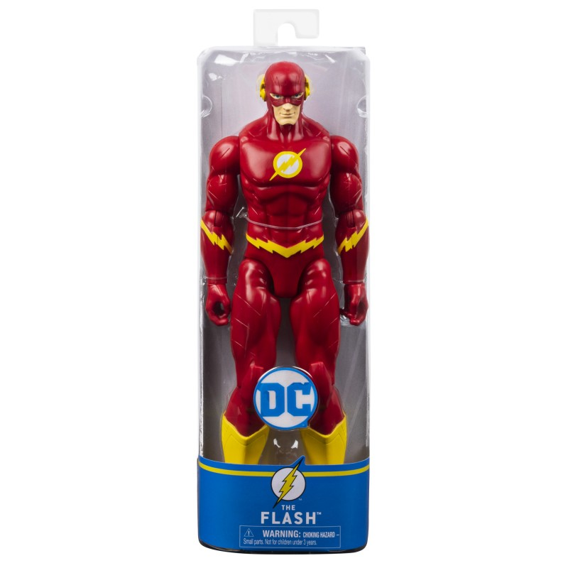 SPIN MASTER  DC UNIVERSE FLASH IN SCALA 30 CM 6056779