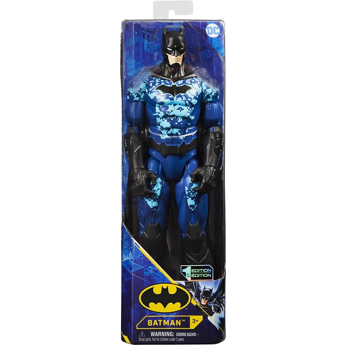 SPIN MASTER  BATMAN PERSONAGGIO BATMAN TECH BLU IN SCALA 30 CM 6060343