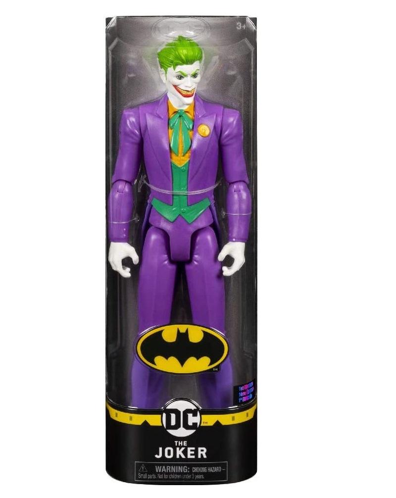 SPIN MASTER  BATMAN PERSONAGGIO JOKER CLASSICO PACK TECH IN SCALA 30 CM 6063093