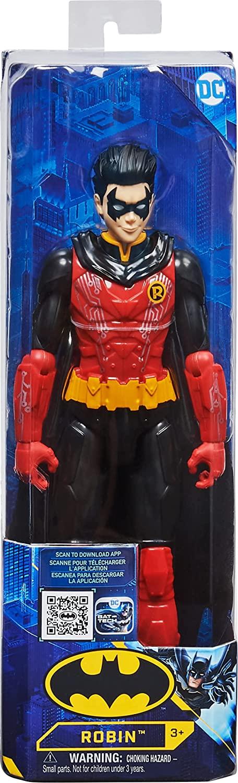 SPIN MASTER  BATMAN PERSONAGGIO ROBIN TECH IN SCALA 30 CM 6062923
