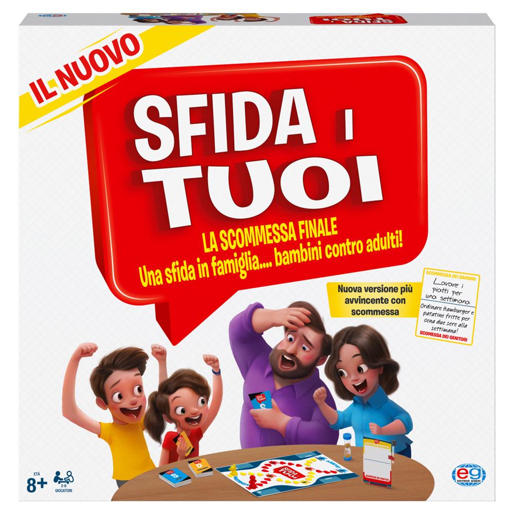 SPIN MASTER  SFIDA I TUOI, LA SCOMMESSA FINALE! 6063770