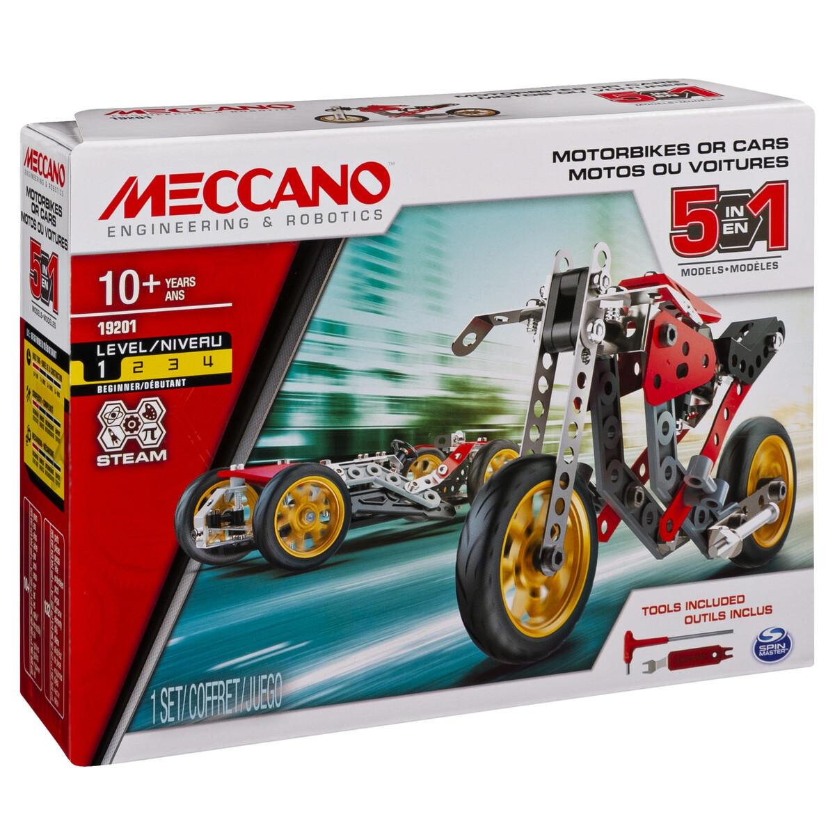 MECCANO MULTI MODELLO DA 5 - MOTO DA CORSA 6053371