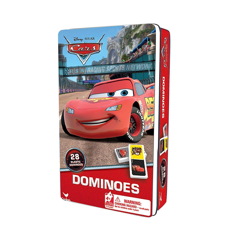 EDITRICE GIOCHI DOMINO CARS- CONFEZIONE LATTA 6033085