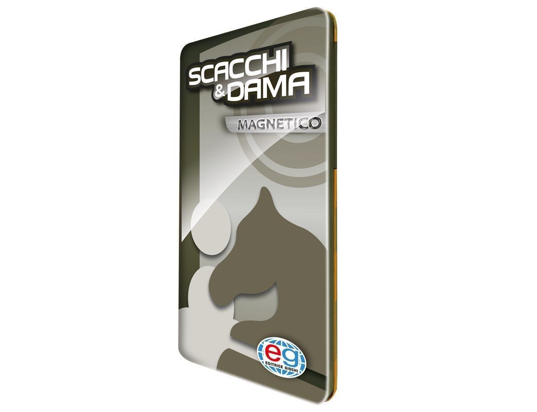 EDITRICE GIOCHI CLASSIC DAMA & SCACCHI TRAVEL MAGNETICO 6037156