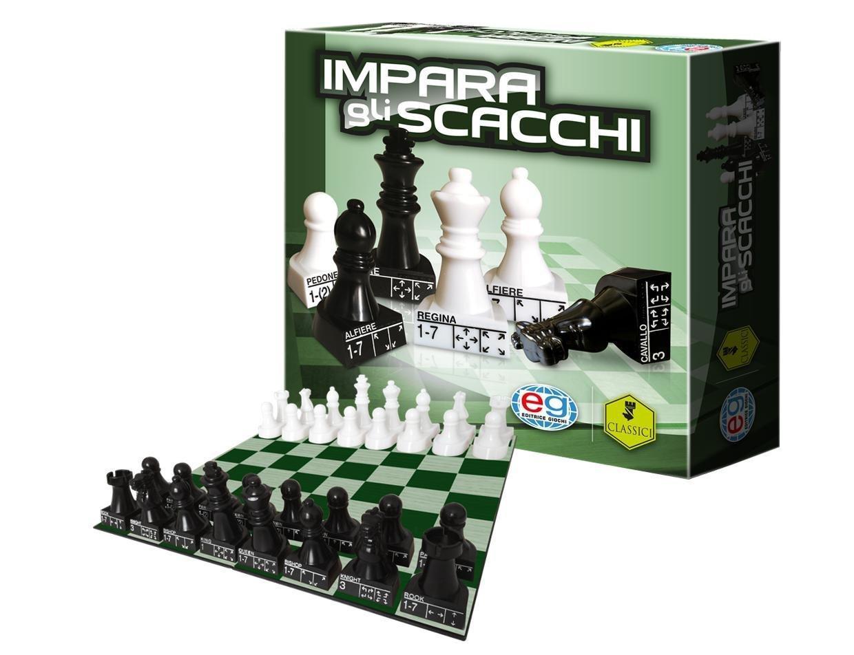 EDITRICE GIOCHI CLASSIC GAMES IMPARA GLI SCACCHI 6037176