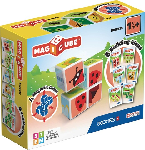 GEOMAG WORLD MAGICUBE INSECTS 121