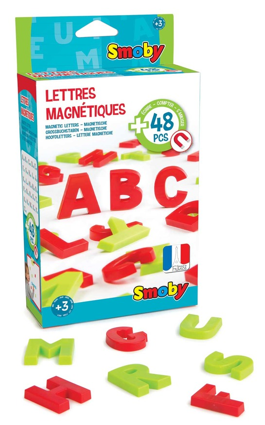SMOBY LETTERE MAGNETICHE 48PZ 430100