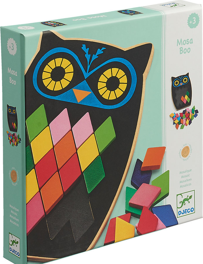 DJECO MOSA BOO - EDUCATIONAL WOODEN GAME DJ01693
