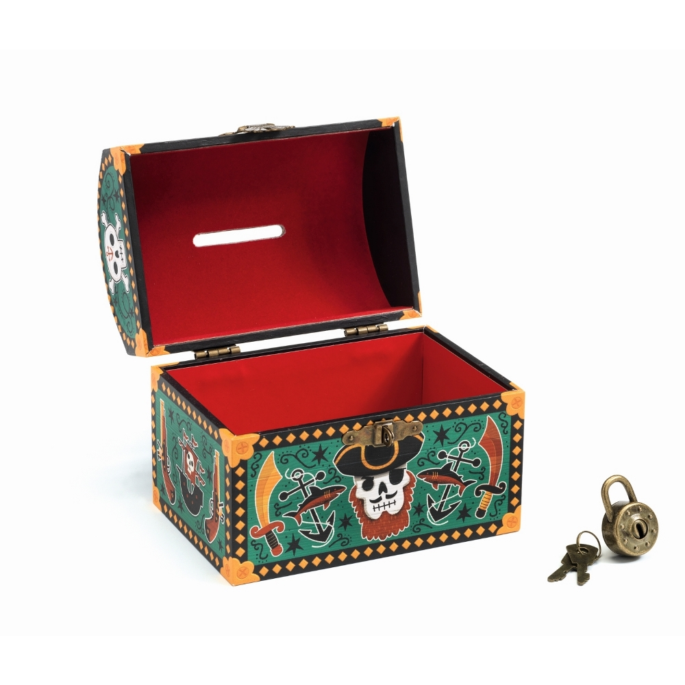 DJECO MONEY BOX - PIRATE DD03331