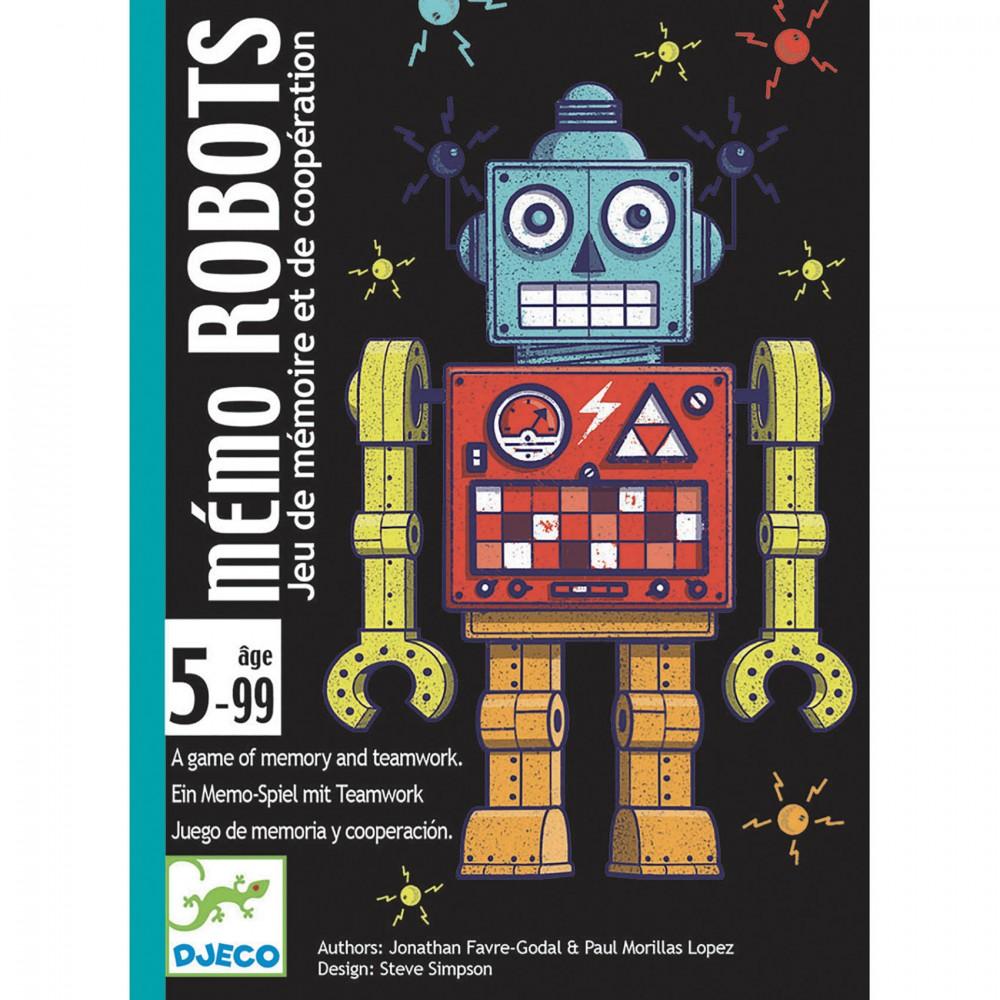 DJECO ROBOTS - GIOCO DI CARTE DJ05097