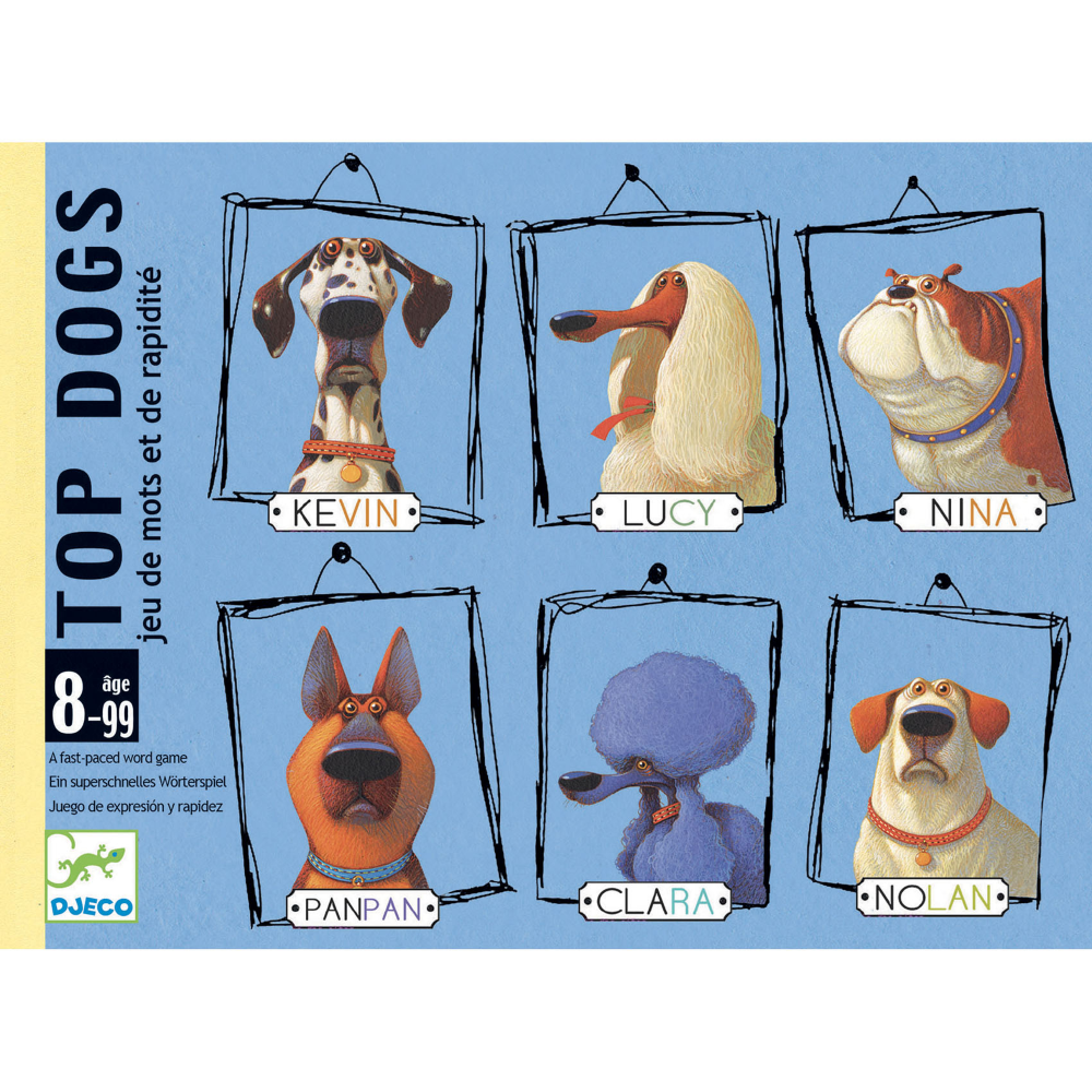 DJECO TOP DOGS - GIOCO DI CARTE DJ05099