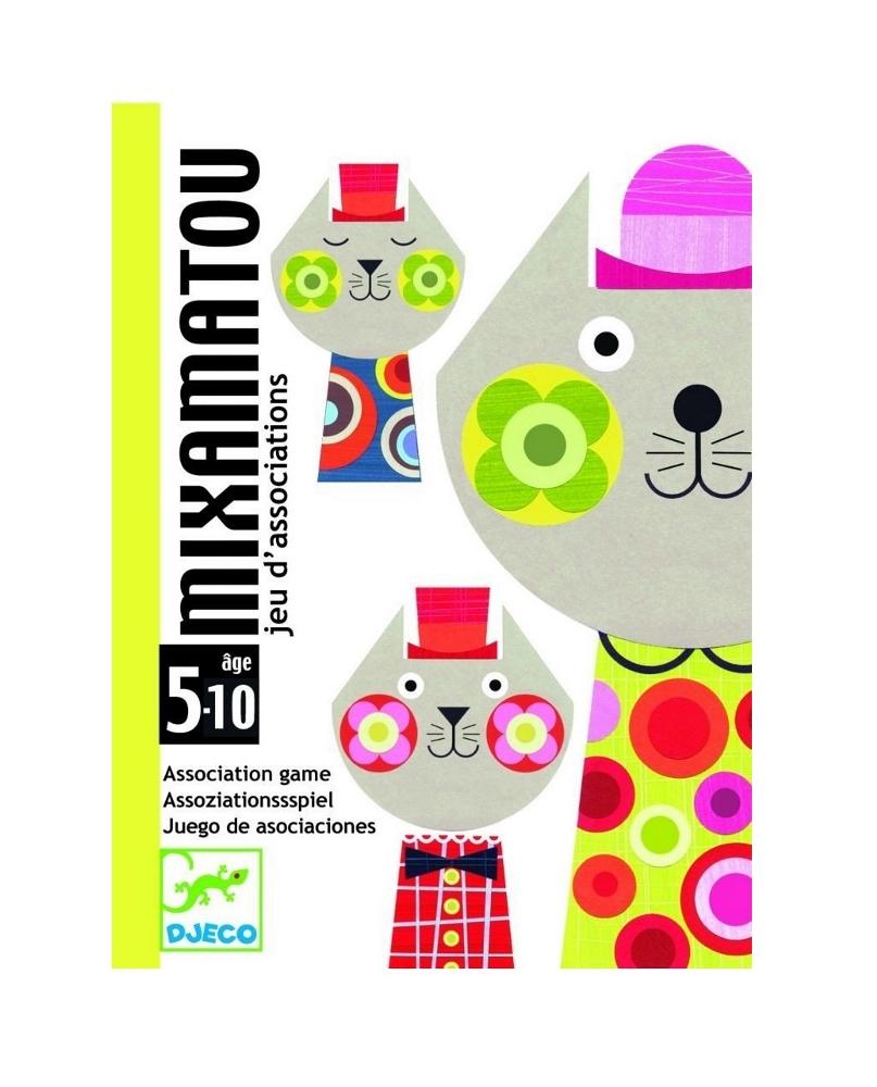DJECO GIOCO DI CARTE - MIXIMATOU DJ05130