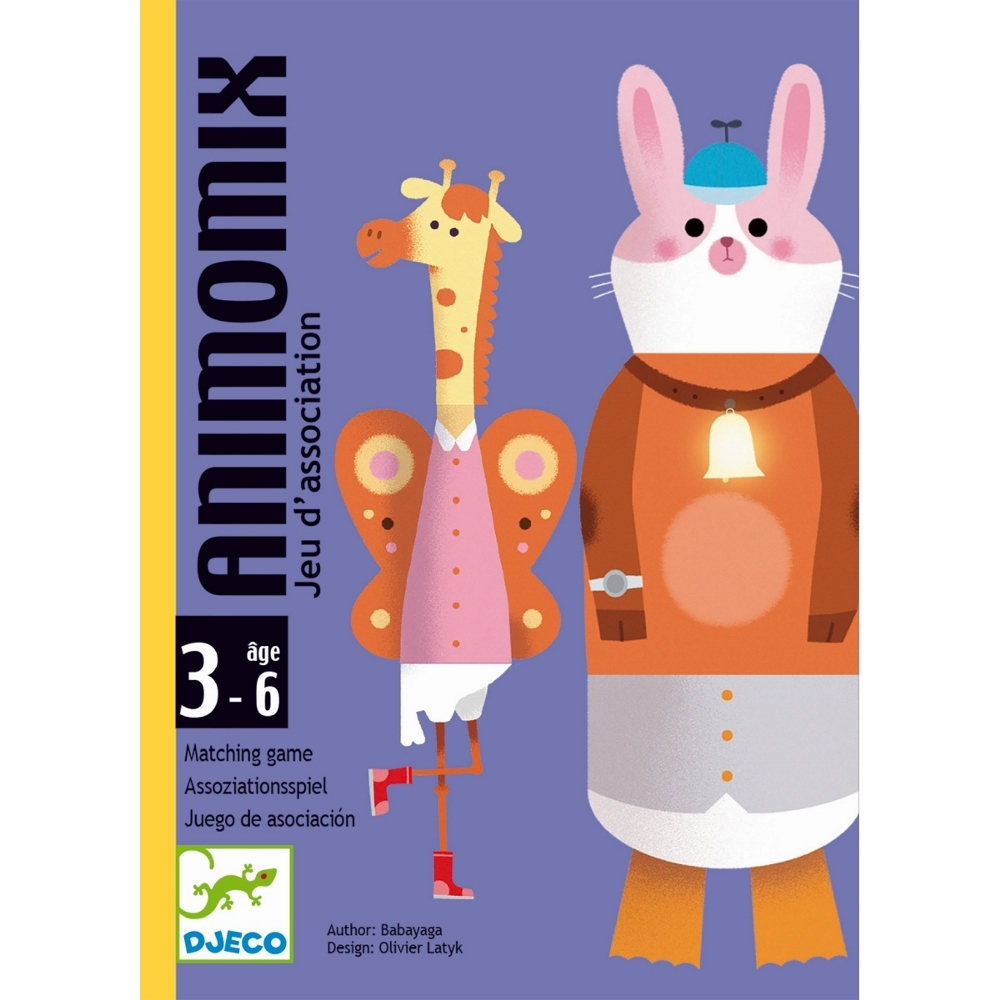 DJECO GIOCO DI CARTE - ANIMOMIX DJ05146