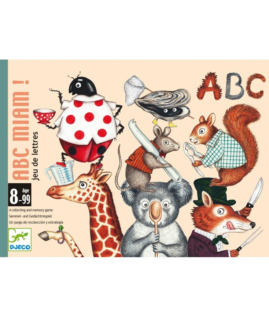 DJECO ABC MIAM GIOCO DI CARTE DJ05147