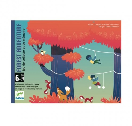 DJECO GIOCO DI CARTE - FOREST ADVENTURE DJ05180