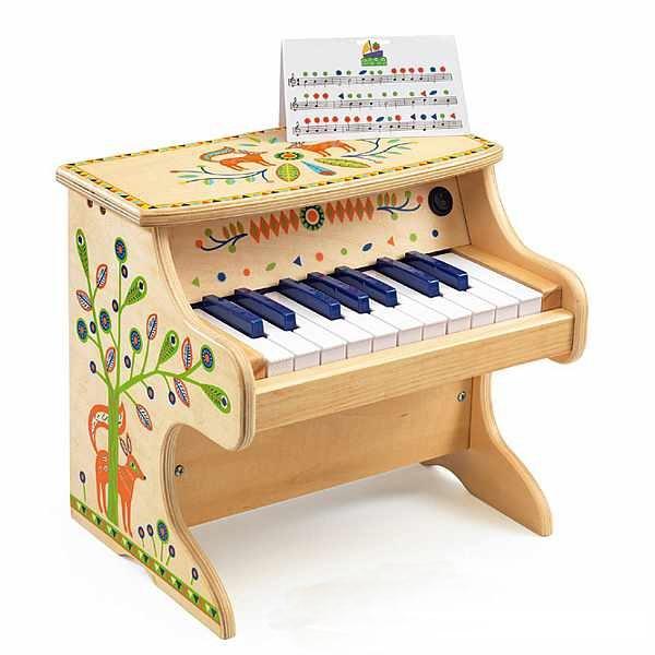 DJECO ANIMAMBO - PIANO ELETTRONICO CON 18 CHIAVI DJ06006