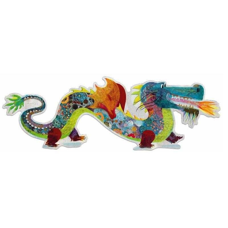 DJECO GIANT PUZZLE - LEON THE DRAGON 58 PEZZI DJ07170