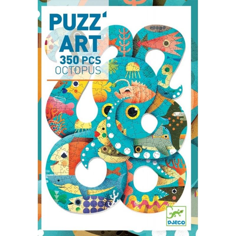 DJECO PUZZ/ART - POLIPO / OCTOPUS DJ07651