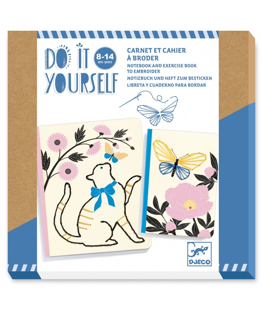 DJECO DO IT YOURSELF - PICCOLO QUADERNO POETICO DJ07970