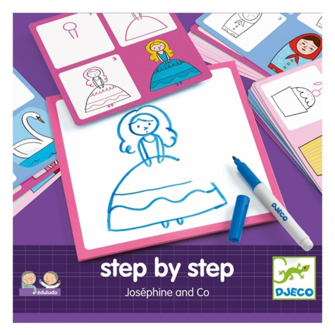 DJECO STEP BY STEP - JOSEPHINE AND CO. DJ08320