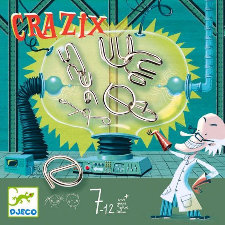 DJECO CRAZIX - ROMPICAPO IN METALLO DJ08463