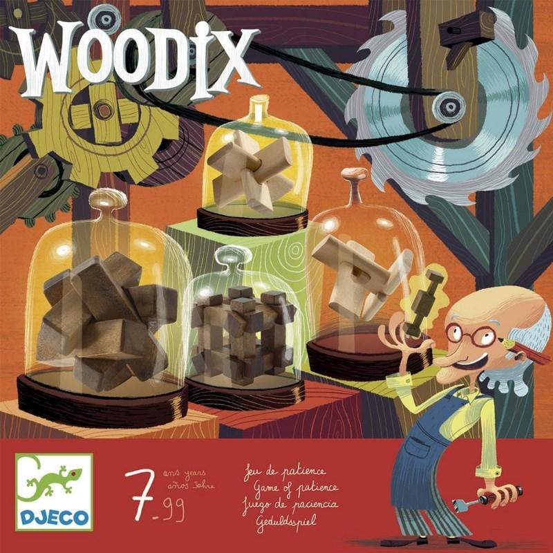 DJECO WOODIX - ROMPICAPO IN LEGO DJ08464