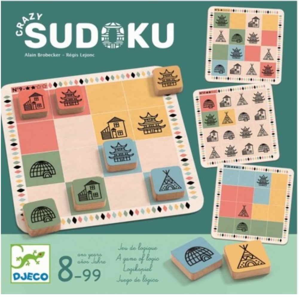 DJECO - CRAZY SUDOKU DJ08488