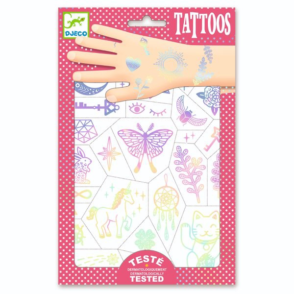 DJECO TATTOOS - LUCKY CHARMS DJ09596