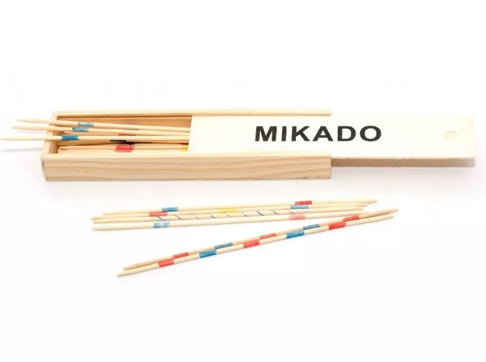 GIOCO MIKADO IN LEGNO 25CM 64225