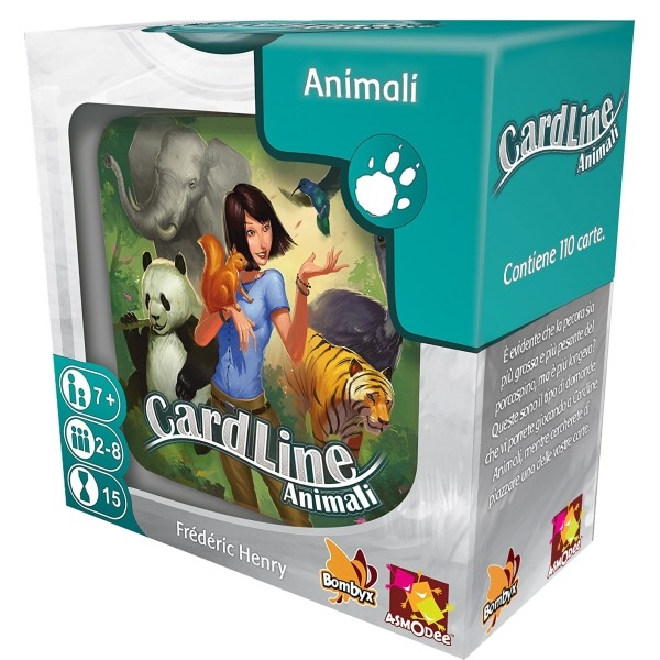 ASMODEE 8531 CARDLINE ANIMALI