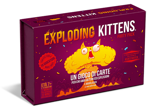 ASMODEE EXPLODING KITTENS PARTY PACK 8543