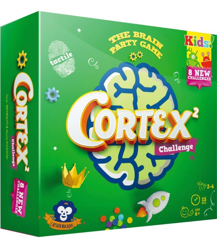 ASMODEE 8934 CORTEX CHALLENGE KIDS 2
