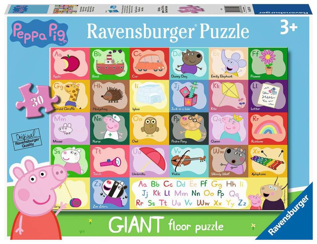 RAVENSBURGER  PEPPA PIG ALPHABET 03116