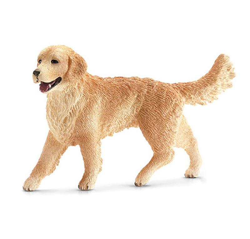 SCHLEICH FARM LIFE CANI GOLDEN RETRIEVER FEMMINA 16395