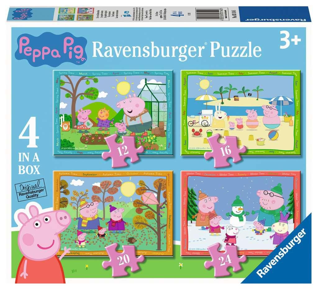 RAVENSBURGER  PEPPA PIG 4 STAGIONI 03114