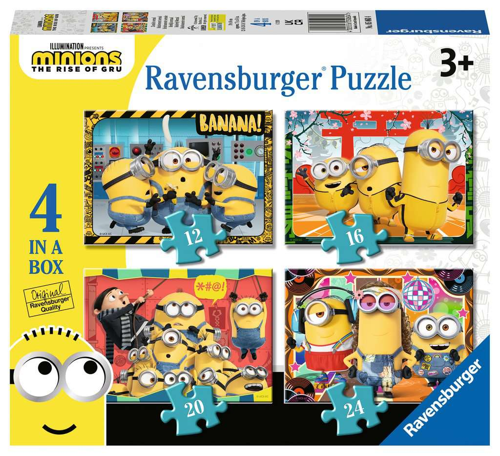 RAVENSBURGER  MINIONS 05060
