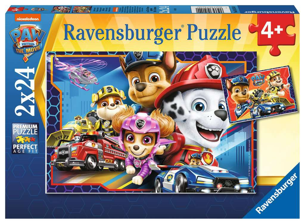 RAVENSBURGER  PAW PATROL MOVIE 05154