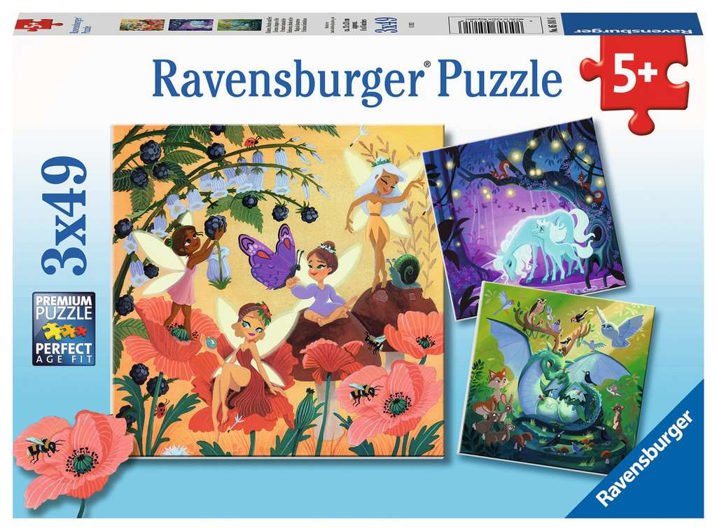 RAVENSBURGER  CREATURE FANTASTICHE 05181
