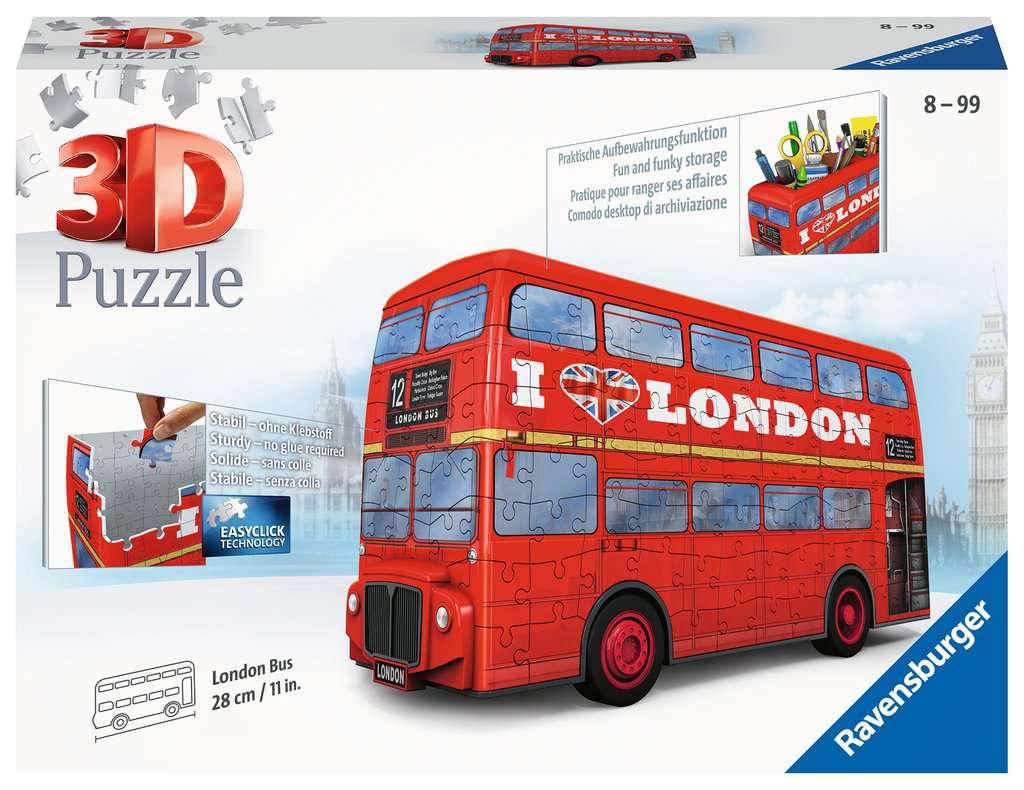 RAVENSBURGER  LONDON BUS 12534