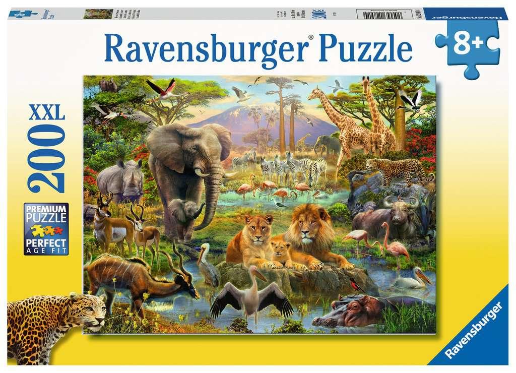 RAVENSBURGER  ANIMALI DELLA SAVANA 12891