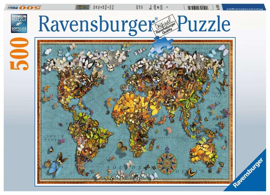 RAVENSBURGER  MONDO DI FARFALLE 15043