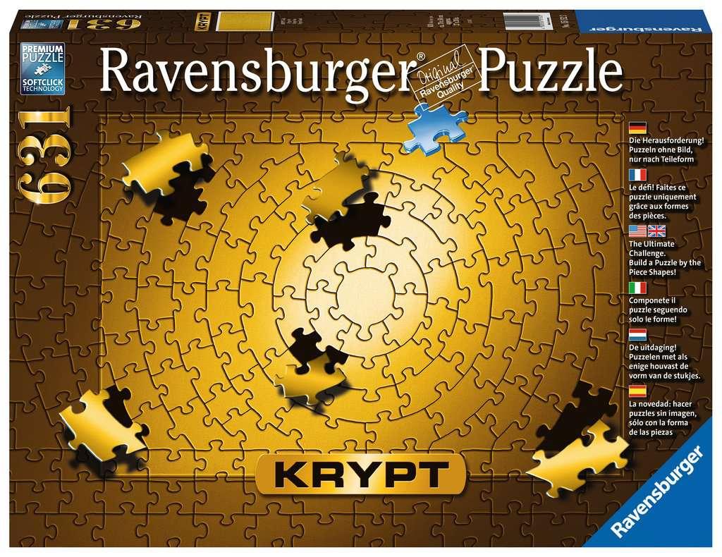 RAVENSBURGER  KRYPT GOLD 631 PEZZI 15152