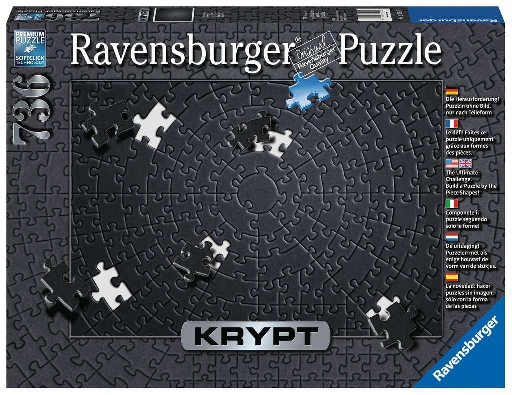 RAVENSBURGER  KRYPT BLACK 736 PEZZI 15260