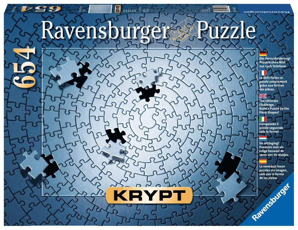 RAVENSBURGER  KRYPT SILVER 654 PEZZI 15964
